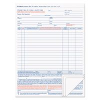 TOPS Bill of Lading,16-Line, 8-1/2 x 11, Four-Part Carbonless, 50 Forms TOP3847