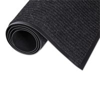 Crown Needle-Rib Wiper/Scraper Mat, Polypropylene, 24 x 36, Charcoal CWNNR0023CH