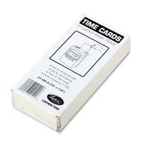 Lathem Time Time Card for Lathem Model 7000E, Numbered 1-100, Two-Sided, 100/Pack LTHE7100