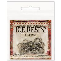 Ice Resin Findings 10mm Jump Rings 30/Pkg NOTM078415