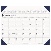 House of Doolittle Executive Monthly Desk Pad Calendar, 24 x 19, 2019 HOD180HD