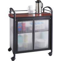 Safco Impromptu Refreshment Cart SAF8966BL