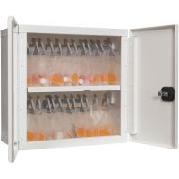 FireKing Electronic Lock Medical Storage Cabinet FIR24MSCELRWT