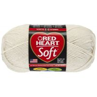 Red Heart Soft Yarn - Off White NOTM297893