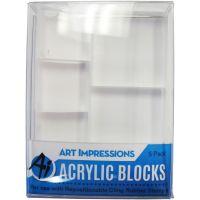 Art Impressions Acrylic Block Set NOTM021740