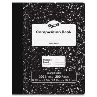Pacon Hard Cover Quad Ruled Composition Notebook PACMMK37103