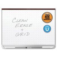 Quartet Prestige 2 Magnetic Total Erase Whiteboard, 96 x 48, Mahogany Frame QRTTEM548M