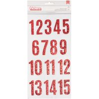 """Merry Merry Thickers Stickers 5.5""""X11"""" 2/Pkg NOTM047331"""