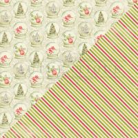 """Vintage Christmas Double-Sided Cardstock 12""""X12"""" NOTM091926"""
