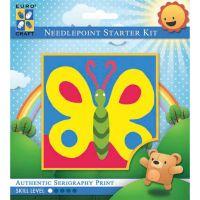 "Needleart World Needlepoint Kit 6""X6"" NOTM052519"