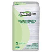 Marcal Pro One-Ply Beverage Napkins MRC0028PK
