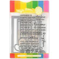Waffle Flower Stamp & Die Set NOTM466568
