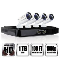 Night Owl 8 Channel 1080p HD Video Security DVR, 1080p Resolution NGTAHD10841B