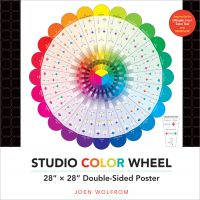 "Studio Color Wheel 28""X28"" Double-Sided Poster NOTM088262"