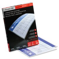 Swingline GBC EZUse Thermal Laminating Pouches, 3mil, 11 1/2 x 9, 100/Box SWI3745003