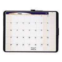 Quartet Tack & Write Monthly Calendar Board, 23 x 17, White Surface, Black Frame QRTCT2317