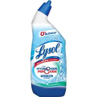 LYSOL Brand Toilet Bowl Cleaner with Hydrogen Peroxide, 24oz Angle-Necked Bottle RAC85020