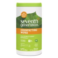 Seventh Generation Botanical Disinfecting Wipes, 8 x 7, 70 Count SEV22813EA