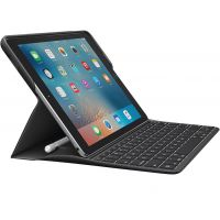 "Logitech CREATE Keyboard/Cover Case (Folio) for 9.7"" iPad Pro - Black SYNX4638998"