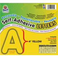 Pacon Reusable Self-Adhesive Letters PAC51622
