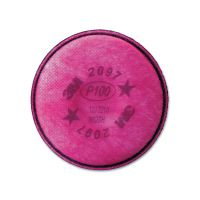 3M Particulate Filter 2097/07184/P100, Nuisance Level Organic Vapor Relief, 2/Pack MMM2097