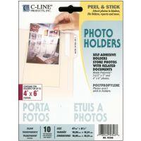 "Peel & Stick Photo Holders 4""X6"" 10/Pkg NOTM257428"