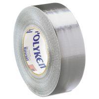 """Polyken Duct Tape, 2"""" x 60yds, 9 1/2mil, Silver BER682802"""