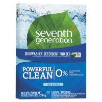 Seventh Generation Natural Automatic Dishwasher Powder, Free & Clear, 45oz Box SEV22150EA