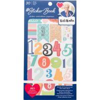 """Designer #Sticker Book 4.75""""X8"""" 30-Pages NOTM215379"""
