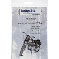 """IndigoBlu Cling Mounted Stamp 5""""X4"""" NOTM279862"""
