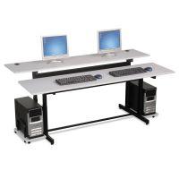 BALT Split-Level Computer Training Table Top, 72 x 36, (Box One) BLT83080