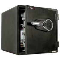 FireKing One Hour Fire and Water Safe with Electronic Lock, 1.23 cu. ft., Graphite FIRKY13131GREL