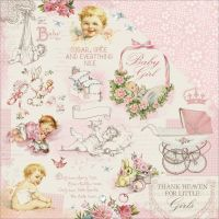 """Peek-A-Boo Double-Sided Cardstock 12""""X12"""" NOTM455414"""