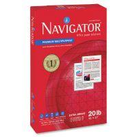 Navigator Premium Multipurpose Paper, 97 Brightness, 20 lb, 11 x 17, White, 2500/Carton SNANMP1720