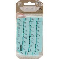"Press Alphabet Stamp Set .25"" Characters 38/Pkg NOTM257681"