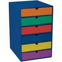 Pacon Six Shelf Literature Organizer PAC001312