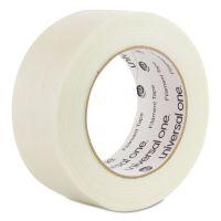Universal 350# Premium Filament Tape, 48mm x 54.8m, Clear UNV31648