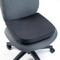 Kensington Memory Foam Seat Rest, 13 1/2w x 14 1/2d x 2h, Black KMW82024