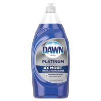 Dawn Ultra Platinum Dishwashing Liquid, Refreshing Rain, 34.6 oz Squeeze Bottle PGC76734EA