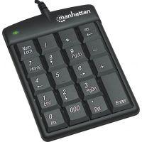 Manhattan USB Numeric Keypad with 18 Full-size keys SYNX3744539