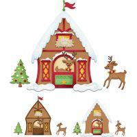 CottageCutz Reindeer Barn Die NOTM204755