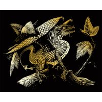 Gold Foil Engraving Art Kit   NOTM134661