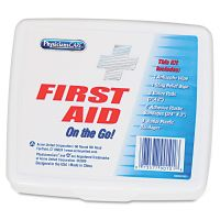 PhysiciansCare by First Aid Only First Aid On the Go Kit, Mini, 13 Pieces/Kit FAO90101
