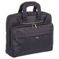"Mitchell Executive Briefcase, 16"" x 4"" x 12.25"", Ballistic Nylon, Black BUGEXB528"
