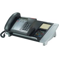 Fellowes Office Suites Telephone Stand, 15 7/16 x 10 5/8 x 4, Black/Silver FEL8031901