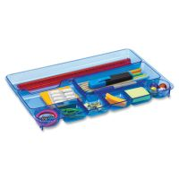 OIC Blue Glacier 9-comprtmt Drawer Tray OIC23216