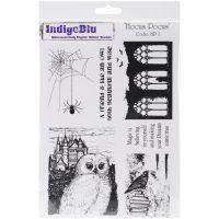 """IndigoBlu Cling Mounted Stamp 9.25""""X6.25"""" NOTM291830"""