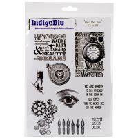 """IndigoBlu Cling Mounted Stamp 10""""X6.5"""" NOTM379200"""