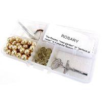 Crystal & Pearl Rosary Bead Kit NOTM104849