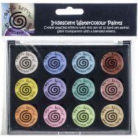 Cosmic Shimmer Iridescent Watercolor Palette Set 8 NOTM033655